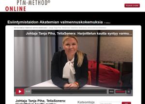 Tanja Piha Esiintymistaidon Akatemia